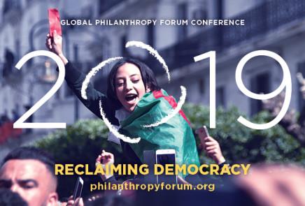 GLOBAL PHILANTHROPY FORUM 2019